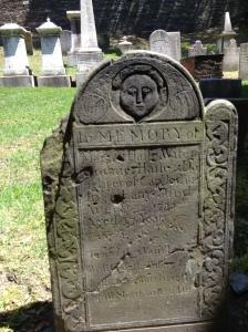 A gravestone of Providence