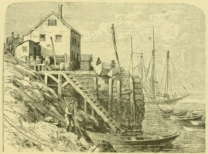Marblehead wharf