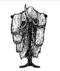 White Fur Costume